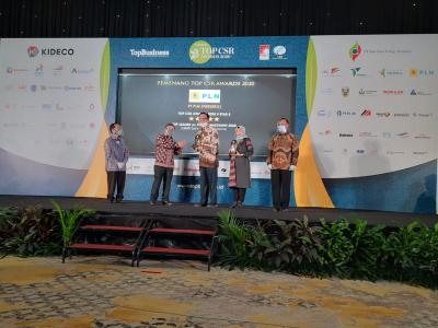 Photo of PLN Raih 2 Penghargaan di Ajang Top CSR Awards 2020