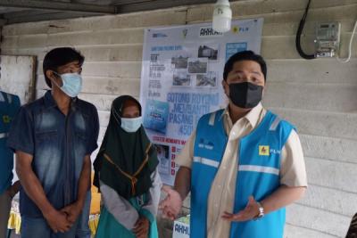 Photo of 500 Keluarga di Palembang dapat Bantuan Penyambungan Listrik