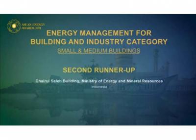 Bikin Bangga, Indonesia Kantongi 5 Penghargaan ASEAN Energy Awards 2021