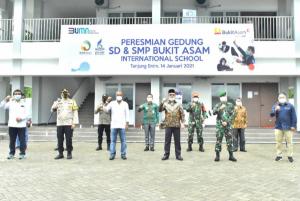 Photo of Bukit Asam Resmikan Gedung Sekolah Bertaraf Internasional