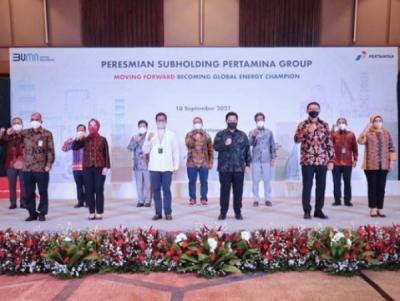 Photo of Pertamina Resmikan 6 Subholding, Siap Kejar Target Nilai Pasar US$100 Miliar