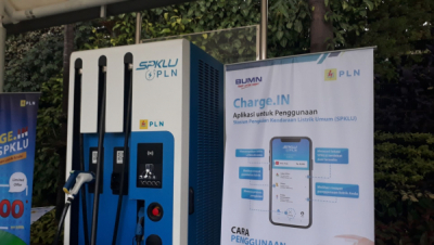 Photo of Hutama Karya Bangun SPKLU di Tol Trans Sumatera