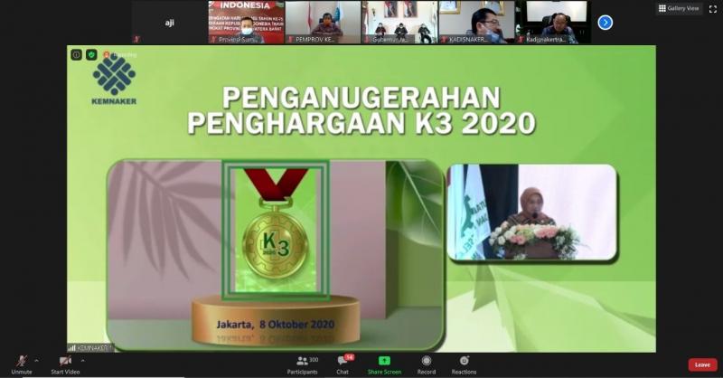 Photo of Indonesia Power Saguling POMU Jadi Wakil Perusahaan Penerima Penghargaan Nihil Kecelakaan Kerja