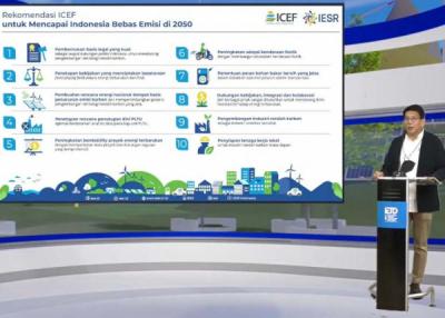 Photo of Inilah 10 Rekomendasi IETD 2021 untuk Capai Target Dekarbonisasi Indonesia