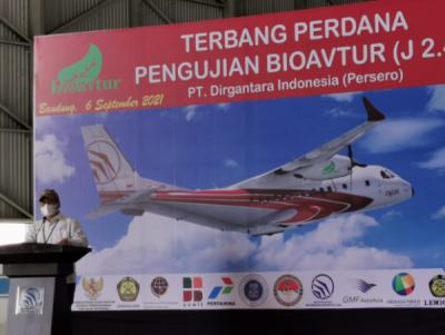 Photo of ITB Flying Test Bed Pesawat CN 235 Menggunakan Bioavtur
