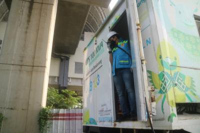 Photo of Jelang Presiden Tinjau Proyek LRT TMII - Harjamukti, PLN Siagakan UPS 100.000 VA