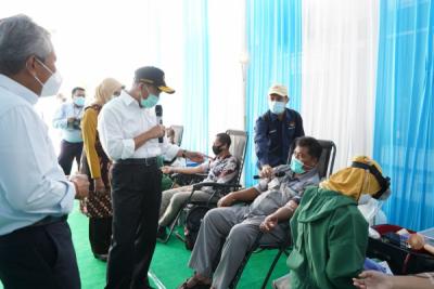 Photo of Kontribusi Penanganan Pandemi, PLN Gandeng PMI Gelar Donor Darah dan Plasma Konvaselen di Surabaya