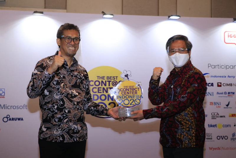 "Layanan Contact Center PLN Raih 22 Penghargaan Ajang ""The Best Contact Center Indonesia"""