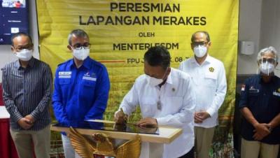 Photo of Menteri ESDM Resmikan Pengembangan Lapangan Merakes