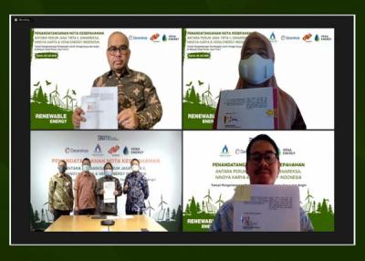 Photo of Nindya Karya Menandatangani MoU Pengembangan PLTS dan PLTB