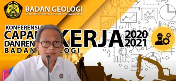 Ada 27 Rekomendasi Dikeluarkan Badan Geologi Sepanjang 2020