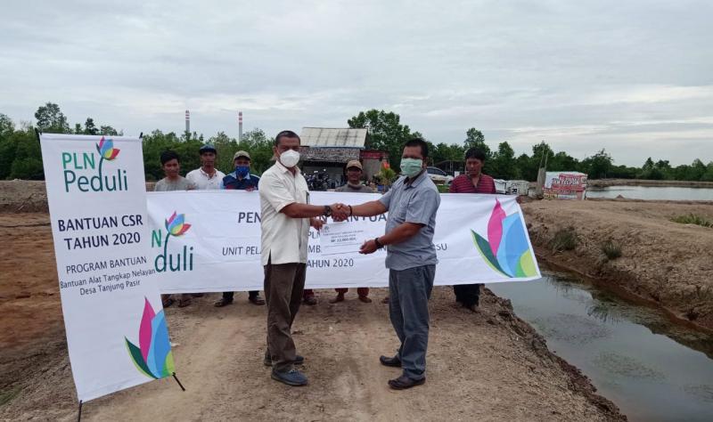 Alhamdulillah, Nelayan Pangkalan Susu Dapat Bantuan