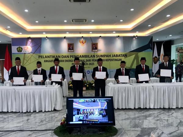 Anggota DEN Baru Resmi Dilantik