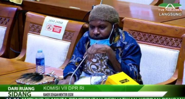 Anggota Komisi VII Marthen Douw : Pembangunan Smelter di Papua Suatu Keharusan