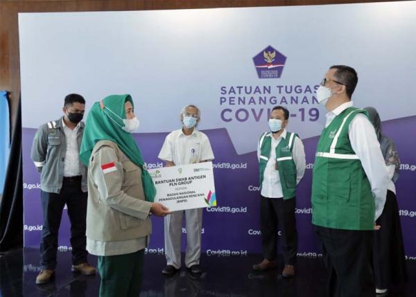 Bantu Cegah Penyebaran Covid-19, PLN Group Bantu 3.300 Rapid Tes Antigen