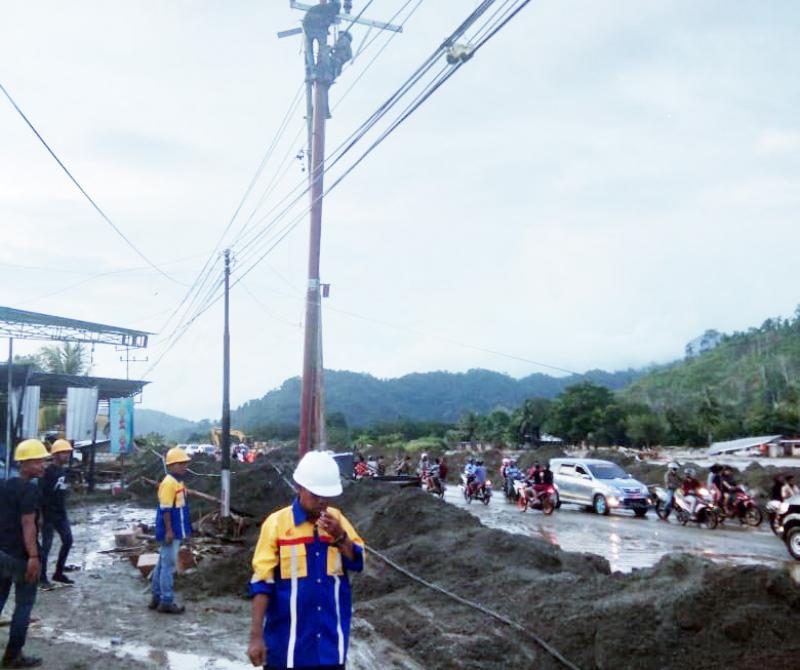 Bencana Banjir di Sentani, PLN Kerahkan 8 Tim untuk Pemulihan