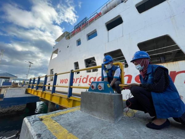 Beralih dari BBM ke Listrik PLN, ASDP: Kapal Ferry Lebih Efisien dan Tidak Bising saat Sandar di Pelabuhan