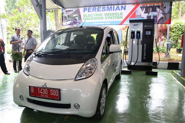 BPPT Lakukan Kajian Charging Station Management System Kendaraan Listrik