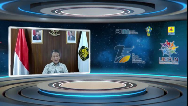 Buka LIKE 2020, Menteri ESDM Ingatkan PLN Agar Ciptakan Bisnis Lebih Sehat