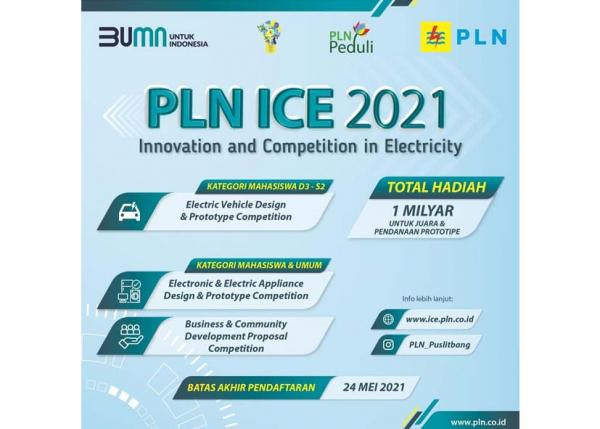 Catat, Kompetisi Inovasi PLN Berhadiah Satu Miliar Segera Ditutup