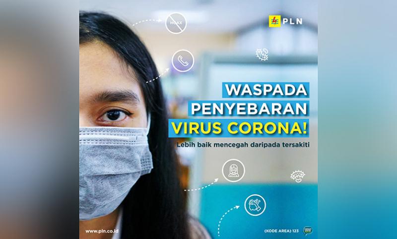 Cegah Virus Corona, PLN Berlakukan Standar Kesiagaan