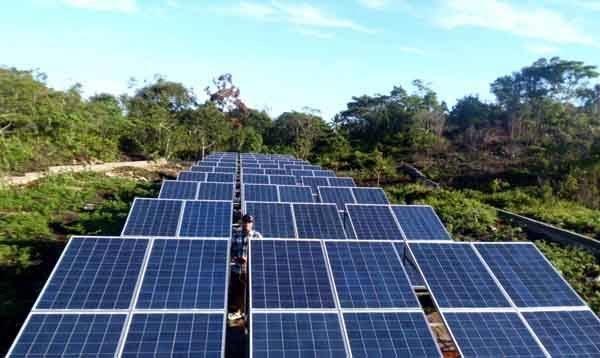 Deltamas Solusindo Pasok Panel Surya PLTS Komunal NTT