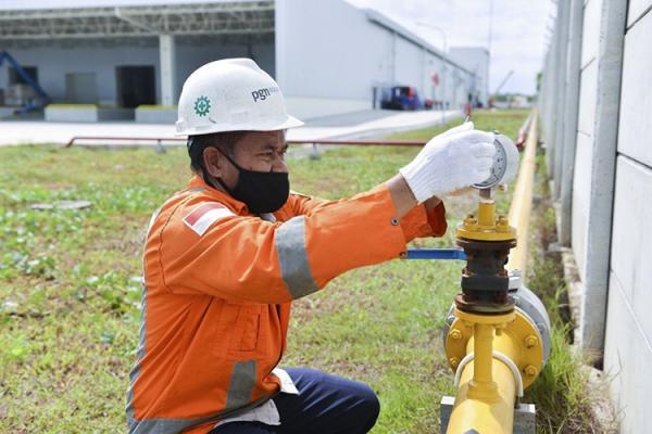 Dukung UMKM di Dumai, PGN Alirkan Gas untuk Industri