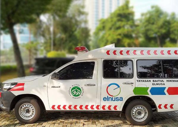 Elnusa Bantu Pasokan Tabung Oksigen dan Ambulans