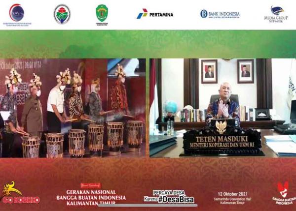 GBBI Diluncurkan, Pertamina Hadirkan Ribuan Produk UMKM Unggulan Indonesia Melalui SMEXPO