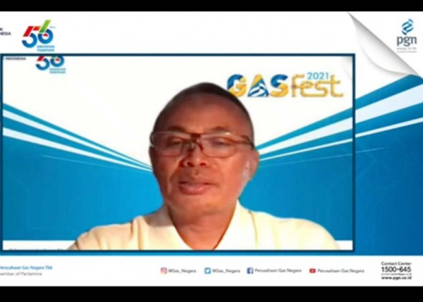 Gelar GasFest 2021, Upaya PGN Pompa Semangat Hadapi Tantangan