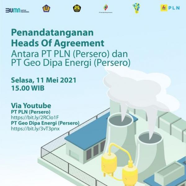 Geo Dipa Energi dan PLN Segera Laksanakan HoA Proyek Panas Bumi Candradimuka