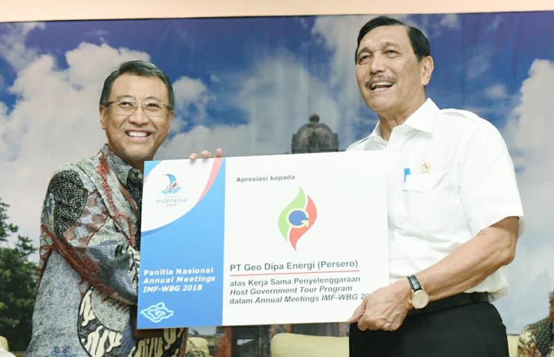 Tarik Minat Investor, Geo Dipa Sukseskan IMF-World Bank Annual Meeting di Bali