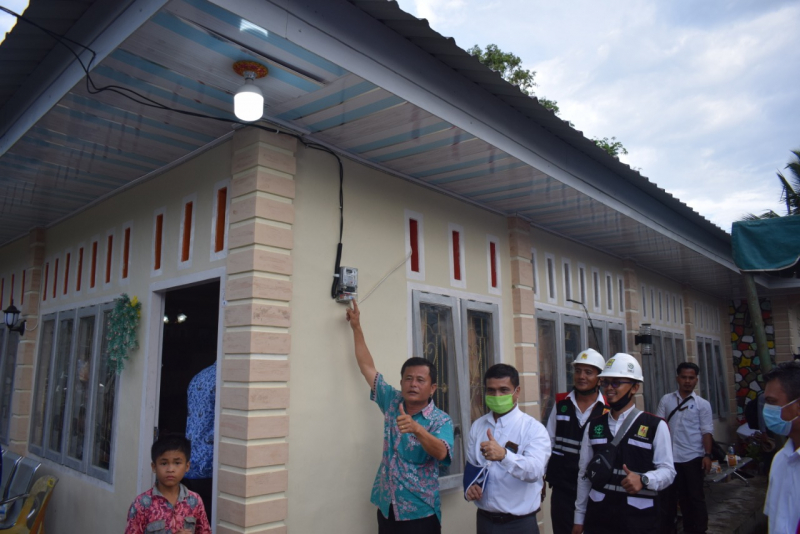 Hadiah Kemerdekaan, PLN Listriki 7 Desa di Pulau Nias