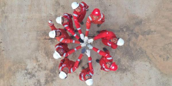 HUT Ke-52 Elnusa Usung Tema Unite Towards Excellence