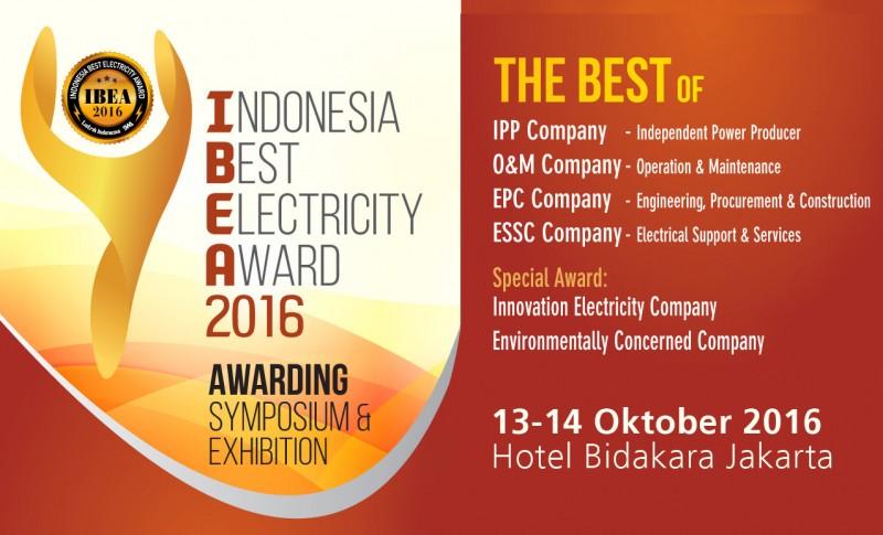 IBEA Award, Ajang Penghargaan Perusahaan Kelistrikan Segera Digelar