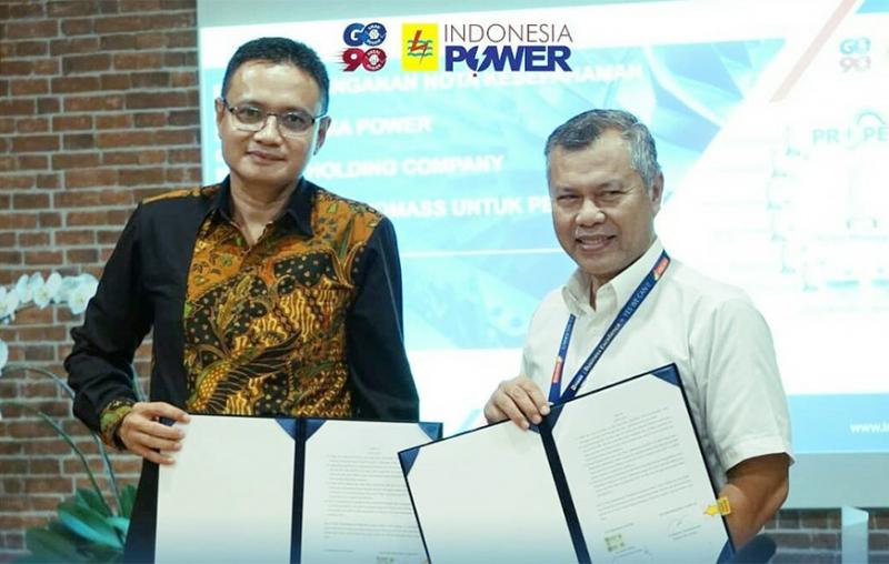 Indonesia Power Serius Bangun Pembangkit Listrik Biomass