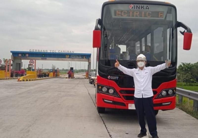 Inka Tawarkan Transjakarta Gunakan Bus Listrik Buatannya