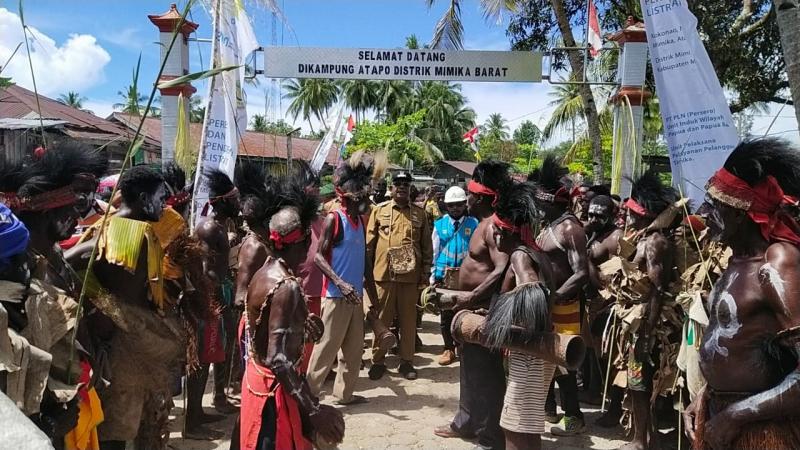 Jelang Akhir Tahun, PLN Kebut Sambungkan Listrik di Pedesaan Papua