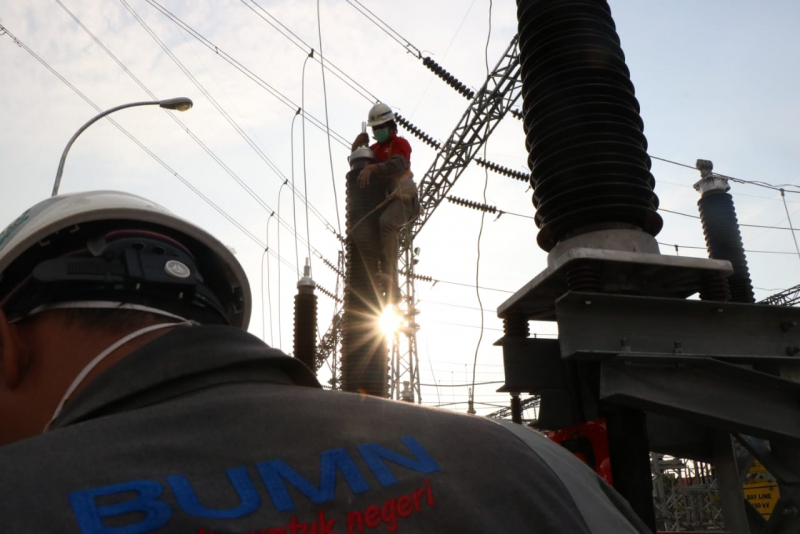 Jelang Beroperasi, PLN Gelar Uji Transmisi Bawah Tanah 150 kV di Makassar