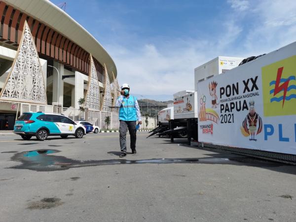 JElang Pembukaan PON XX Papua, PLN Pastikan Listrik Aman dan Andal