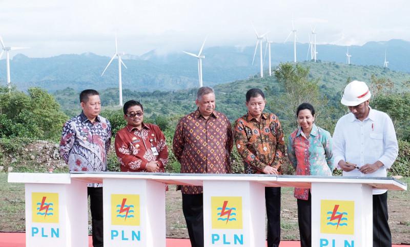 Jokowi Resmikan 6 Pembangkit Program 35.000 MW di Sulawesi