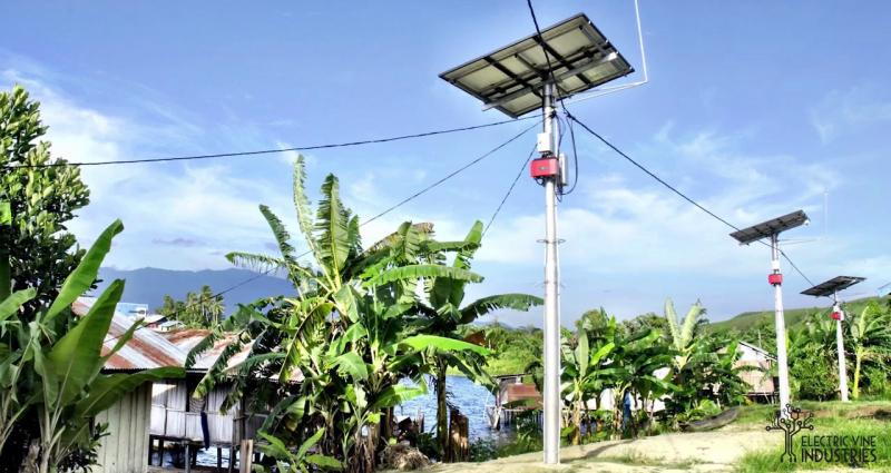 Kampung Abar Sentani, Andalkan Listrik Surya