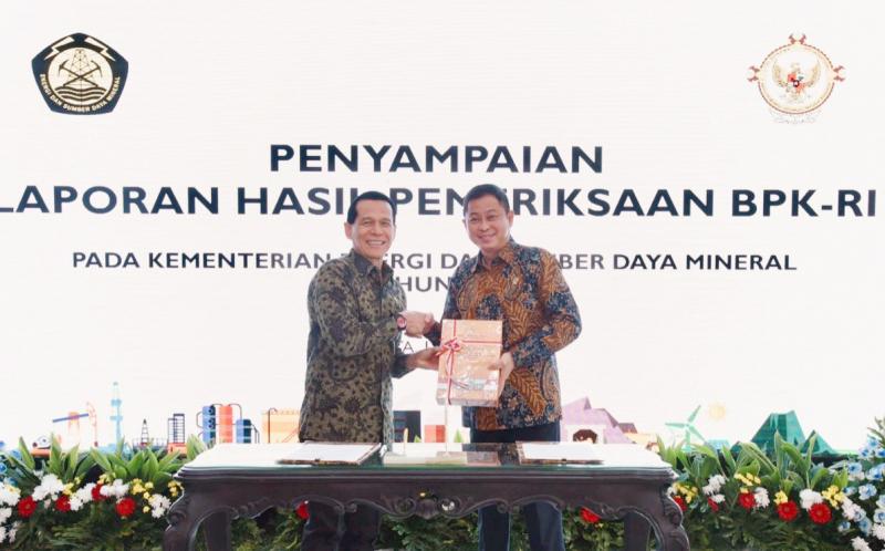 Kementerian ESDM Hat-trick Raih Opini WTP