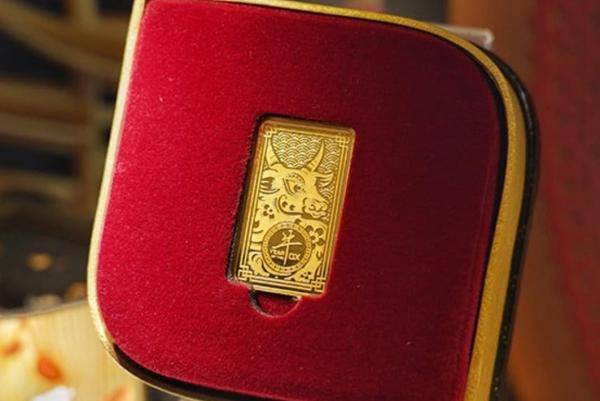 Keren, ANTAM Luncurkan Emas Edisi Imlek Tahun Kerbau