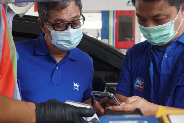 Keren, Mobile Booth MyPertamina Hadir di Kota Medan