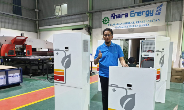 'Khaira Power', Inovasi Pembangkit Energi Bersih di Atap Rumah