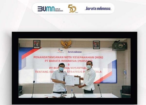 Kolaborasi Barata Indonesia dan Buma Citra Nusantara Dukung Swasembada Gula Nasional