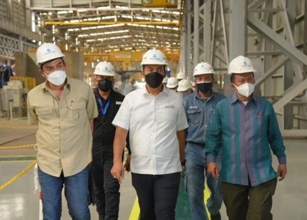 Komisi VII Dorong Krakatau Steel Hidupkan Industri dalam Negeri