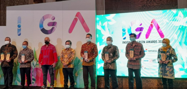Komitmen Jaga Kelestarian Lingkungan, PLN Raih The Best Indonesia Green Awards 2021