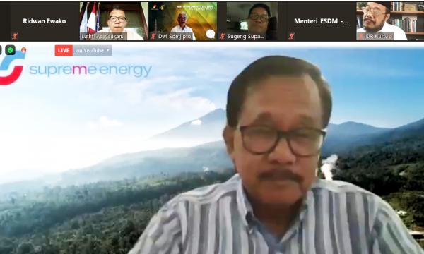 Kritik Bos Supreme Energy: 'Kok, Roadmap Dikit-dikit Berubah'